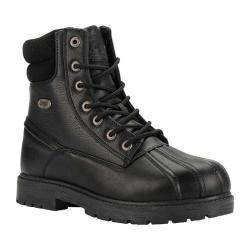 Men's Lugz Avalanche Hi 6in Duck Boot Black Synthetic