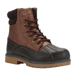 Men's Lugz Avalanche Hi 6in Duck Boot Coffee Bean/Bark/Gum Synthetic