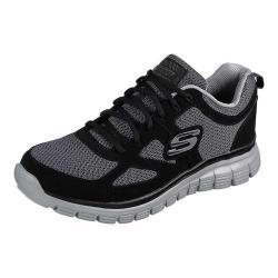 Oclusión algun lado Islas Faroe  Shop Men's Skechers Burns Agoura Training Shoe Black/Gray - Overstock -  18123653