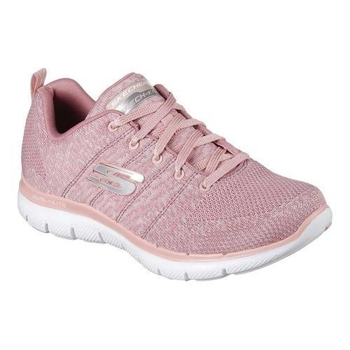 Women's Skechers Flex Appeal 2.0 High Energy Training Shoe Rose