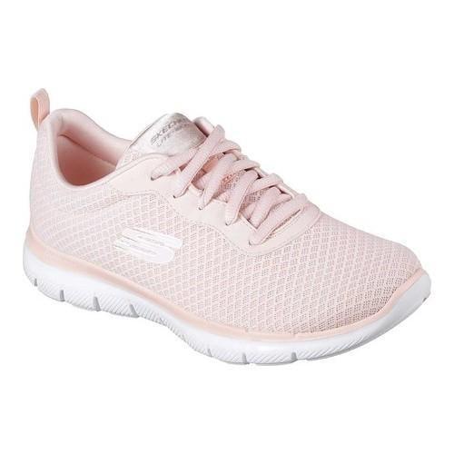 3e6693141477 Women  x27 s Skechers Flex Appeal 2.0 Newsmaker Training Sneaker Light Pink