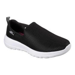 Women's Skechers GOwalk Joy Slip-On Shoe Black/White