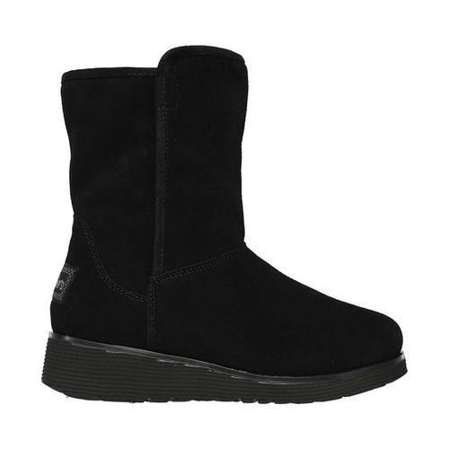 9ea7e8ef5b6 ... Thumbnail Women  x27 s Skechers Keepsakes Wedge Bunny Slope Cool  Weather Boot Black ...