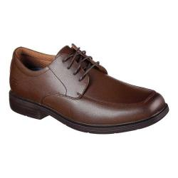 Men's Skechers Relaxed Fit Caswell Oxford Cognac