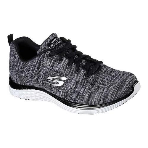 327ba04ab1d9 Shop Women s Skechers Valeris Gracious Life Sneaker Black White - Free  Shipping Today - Overstock - 18123763