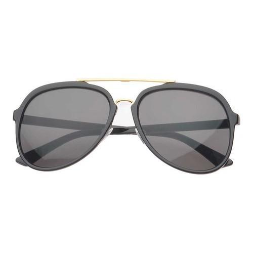68a9bb1d5ab58 Men  x27 s SWG Pico Double Bridge Aviator Sunglasses SWGM6170 Black Black