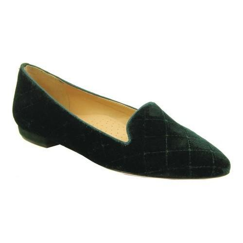 24ce1c00564 Shop Women s VANELi Gannie Flat Dark Green Velvet - Free Shipping Today -  Overstock - 18124013