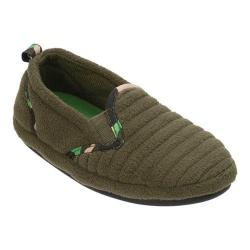Boys' Dearfoams Camo Closed Back Slipper Green