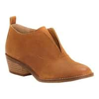 Women's Lucky Brand Fimberly Bootie Cafe Suede