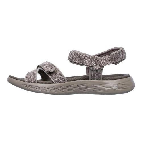 503a3ed314d2 ... Thumbnail Women  x27 s Skechers On the GO 600 Radiant Ankle Strap Sandal  Taupe