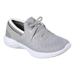 Girls' Skechers YOU Inspire Sneaker Gray