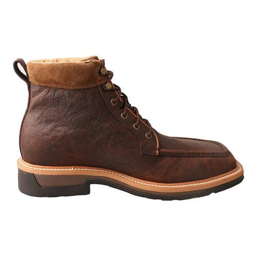 Men's Twisted X Boots MLCALW1 Lite Work Lacer Alloy Toe Boot Dark Brown  Leather - Free Shipping Today - Overstock.com - 24279126