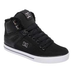Men's DC Shoes Spartan Hi WC WNT High Top Black/Armor Nubuck/Ballistic Nylon