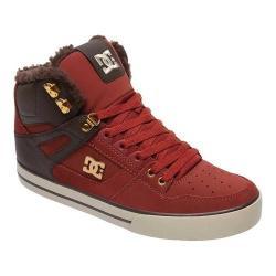 Men's DC Shoes Spartan Hi WC WNT High Top Coffee Nubuck/Ballistic Nylon