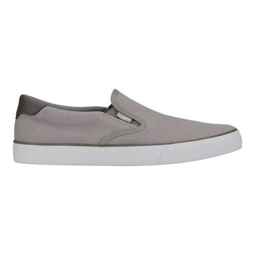 Men's Lugz Clipper Slip On Alloy/Charcoal/White Canvas - Free Shipping On  Orders Over $45 - Overstock.com - 24283027