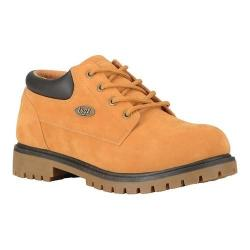 Men's Lugz Nile Lo Work Boot Golden Wheat/Bark/Gum Synthetic