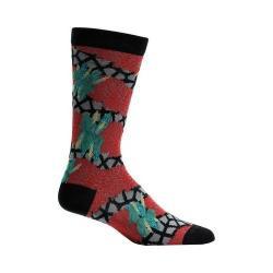 Men's Ozone Garland Chains Sock (2 Pairs) Black