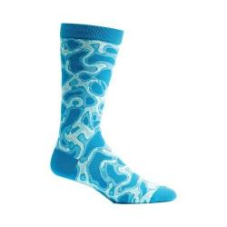 Men's Ozone Water Caustics Sock (2 Pairs) Navy