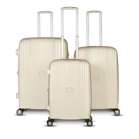 Gabbiano The Gallo Collection 3 Piece Hardside Spinner Set