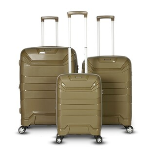 Gabbiano The Casey Collection 3 Piece Hardside Spinner Set