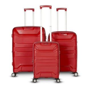 Gabbiano The Casey Collection 3 Piece Hardside Spinner Set (4 options available)