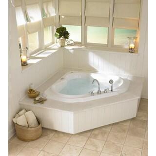 Shop Jacuzzi Bellavista Corner Whirlpool Tub Free