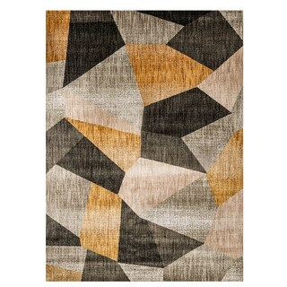 Furniture of America Evie Contemporary Recycled Mosaic Rug