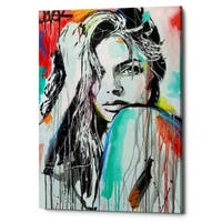 "Epic Graffiti ""In Spirit"" by Loui Jover, Giclee Canvas Wall Art, 12""x18"""