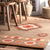 Pine Canopy Tongass Hand-tufted Southwestern Wool Area Rug - 8' 6 x 11' 6