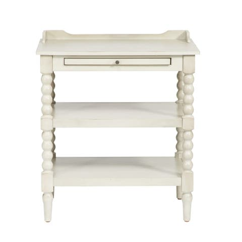 The Curated Nomad Arroyo Cottage 2-shelf Open Nightstand