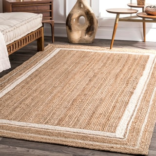The Curated Nomad Pynchon Braided Jute Area Rug