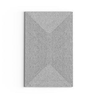 Taylor & Olive DeGray Handmade Grey Braided Area Rug - 6' Square