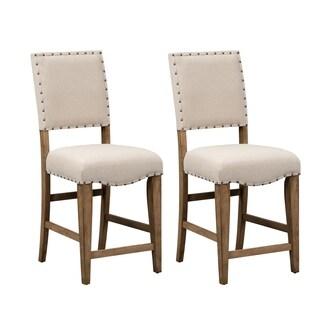 The Gray Barn Ten Hens Upholstered Nailhead Dining Chair