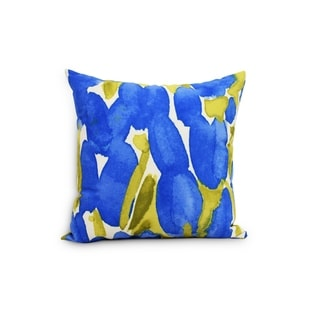Sunset Tulip 18 inch Floral Decorative Outdoor  Pillow