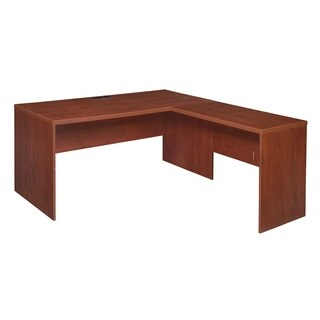 Clay Alder Home Gold Brook 61-inch L-Desk Shell with no Tools Assembly