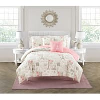 City of Romance 5-piece Comforter Set