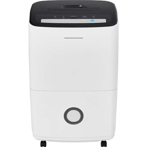 70-Pint Dehumidifier with Built-in Pump in White