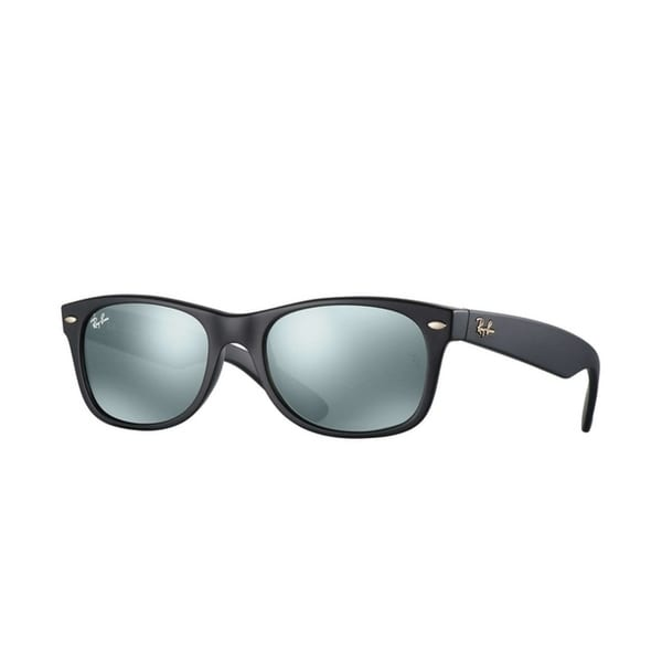 78115fd45 Shop Ray-Ban RB2132 Unisex New Wayfarer Black Frame Blue/Grey Classic 52mm  Lens Sunglasses - Free Shipping Today - Overstock - 20707661