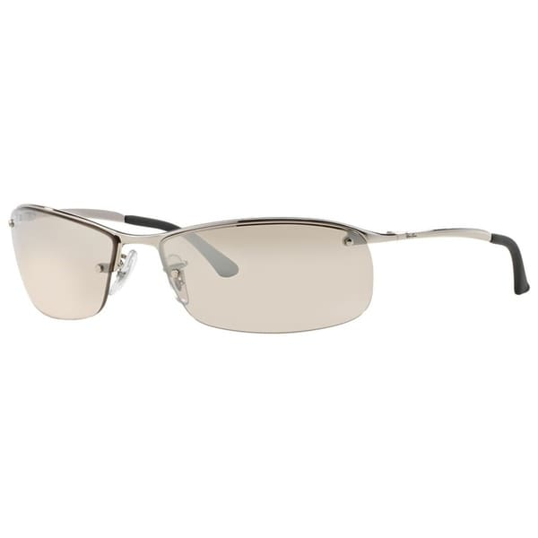b087c2f76e Ray-Ban RB3183 Semi-Rimless Light Brown Gradient 63mm Lens Sunglasses