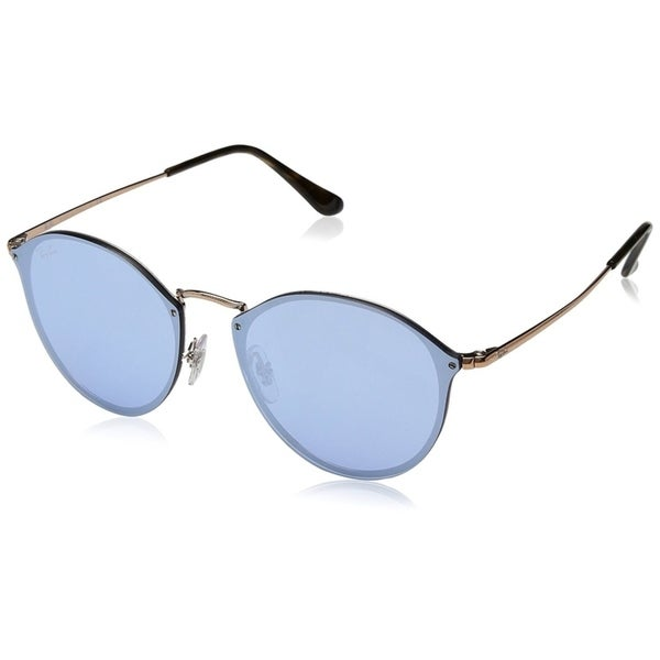 d31167b56a Ray-Ban Blaze RB3574N Unisex Rimless Violet Mirror 59mm Lens Sunglasses