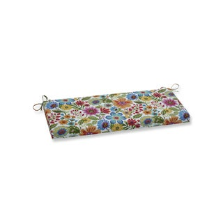 Pillow Perfect Outdoor / Indoor Gregoire Prima Blue Bench Cushion