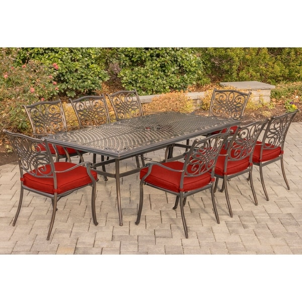 Hanover Traditions 9-Piece Dining Set
