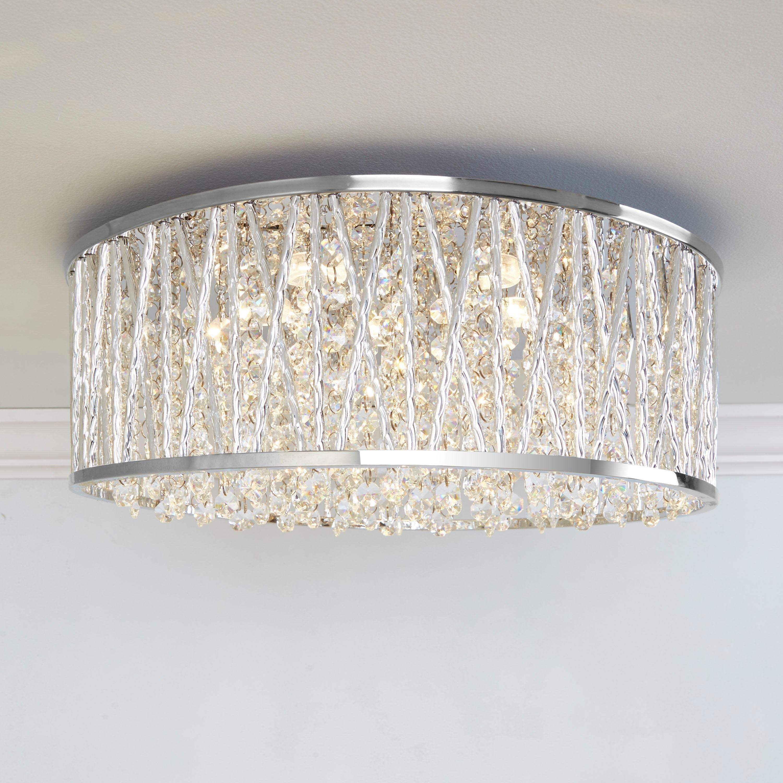 Ceiling Lights & Fans Back To Search Resultslights & Lighting Led Ceiling Lamp Living Room Round Crystal Lamp Petal Shape Ceiling Fan Light Simple Modern Bedroom Lamp Led Panel Light