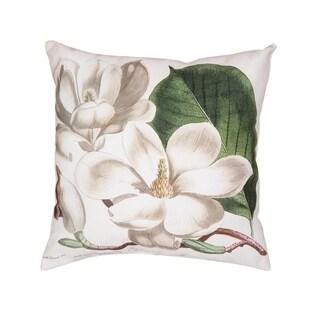 Magnolia HD Indoor/Outdoor 18 Inch Throw Pillow