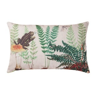 Fern & Frog HD Indoor/Outdoor 14x22 Throw Pillow