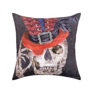 Skullastic HD Indoor/Outdoor 18 Inch Throw Pillow