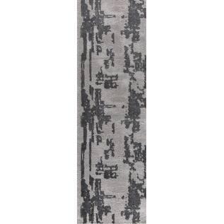 "Sam Tlight Collection Gray Runner Rug - 2'3"" x 8'"