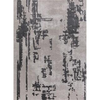 Sam Tlight Collection Gray Area Rug (8' x 10') - 7'8 x 10'2