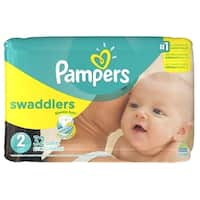 P&G Pampers Swaddlers Diapers Size 2 (Pack of 32)