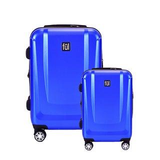 Ful Load Rider Cobalt Blue 2-piece Expandable Hardside Spinner Luggage Set